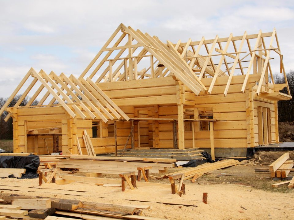 eco house build